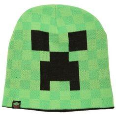 Minecraft - Creeper Beanie Green, http://www.amazon.com/dp/B00JJ1AF1A/ref=cm_sw_r_pi_awdm_mKvyub12ZG4GD