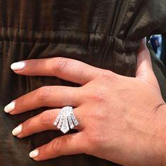 Right Hand Diamond Ring.