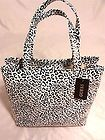 Guess Cat Power Black & White Tote  Purse