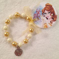 8 Belle Beauty and the Beast Rose Charm por MichelleAndCompany