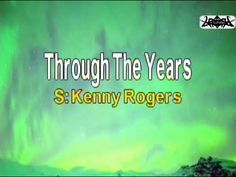 English Karaoke - Through the Years as popularized by: Kenny Rogers This Karaoke song cover has a melody guide and lyrics timing to assist the singers when t. Karaoke, Songs, Youtube, Song Books, Youtubers, Youtube Movies