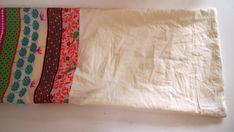 Jak ušít pytel na záda - fotonávod na www.notjustmom.cz Bed Pillows, Sewing, Scrappy Quilts, Couture, Sew, Stitching, Full Sew In, Needlework
