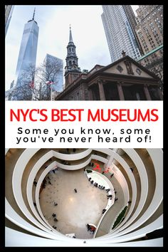New York City is FULL of some of the best museums in the world. So, how do you choose just a few to add to your things to do in NYC list? Well, start by reading our article! Here are the best museums in NYC! Travel Articles, Travel Info, Travel Ideas, Travel Tips, Slow Travel, Travel Usa, Family Travel, Top Destinations In Usa, World Trade Center Site
