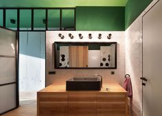 Bathroom | The Green Apartment by Special Project Venediktov | est living