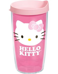 Hello Kitty® | Hello Kitty Pink Bow | Wrap with Lid | Tumblers, Mugs, Cups | Tervis <3