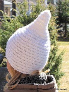 Piippapipo - Pointed hat in Nalbinding   Nadelbindetechnik