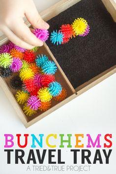 Bunchems Travel Tray