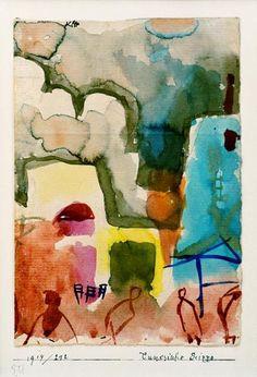 Paul Klee, Tunesische Scizze, 1914 on ArtStack #paul-klee #art