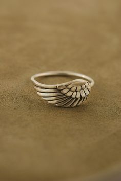 angel wing ring!