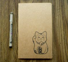 Moleskine Limited Edition Maneki Neko, Large, Ruled, White, Hard Cover (5 X 8.25) : 8058341714867
