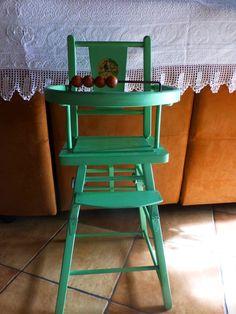 adorable chaise ,jouet ancien  années50 de BéATRICE MALLET ,collection , décor?