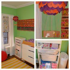 Travel-themed nursery for a baby girl! | Nursery Ideas – Parenting.com