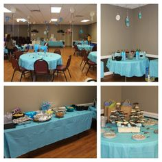Baby shower idea - Love the colors and the simple setup