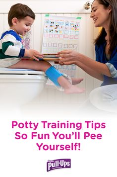 Who said potty training your toddler can't be fun? From shopping trips to story time, sticker charts to potty parties, there's plenty of ways to not only help keep your Big Kid stay consistent with potty training, but have a great time doing it. Check out four creative ways to make potty training together more fun.