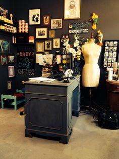 Rockalily Hair salon  http://www.rockalily.com/  Best #vintage #hair in #London