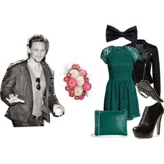 Date with Thomas :) by norarogers on Polyvore featuring H&M, Forever New, Sergio Rossi, Oasis, Religion Clothing, romantic, date and tomhiddleston