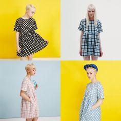 T-shift Smock Dress, Which colours your fave? Black Polka http://www.thewhitepepper.com/collections/dresses/products/t-shirt-smock-dress-black-polka Blue Polka http://www.thewhitepepper.com/collections/dresses/products/t-shirt-smock-dress-blue-polka Blue Check http://www.thewhitepepper.com/collections/dresses/products/t-shirt-smock-dress-blue-check Pink Check http://www.thewhitepepper.com/collections/dresses/products/t-shirt-smock-dress-pink-check