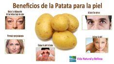 Mascarilla de patata, nutritiva, emoliente y limpiadora   Sentirse bien es facilisimo.com