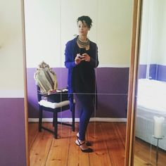 2015/05/28 leggings and a lot of blue