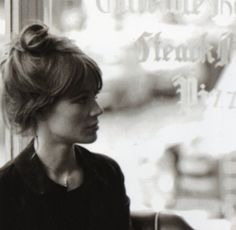 Françoise photographed by Catherine Rotulo in November, 1973