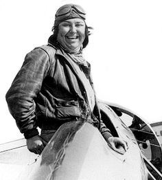 Pancho Barnes - aviatrix, stunt pilot, preacher's wife, Owner of Happy Bottom Riding Club bar/ranch