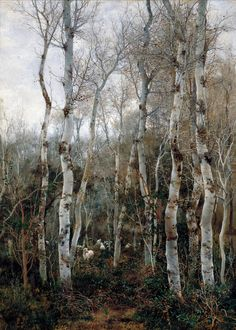 EMILIO SÁNCHEZ PERRIER (Sevilla, 1855-1911) Winter in Andalucia
