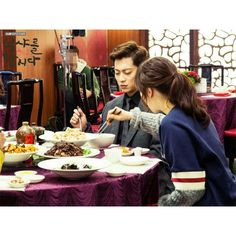 Dujun oppa on Let's eat 2