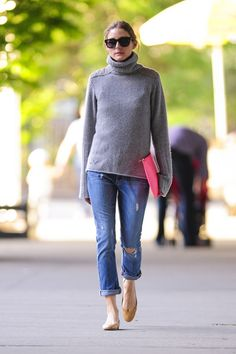 Olivia Palermo - Olivia Palermo walks her dog Mr. Butler and also goes on a coffee run in Brooklyn, New York City