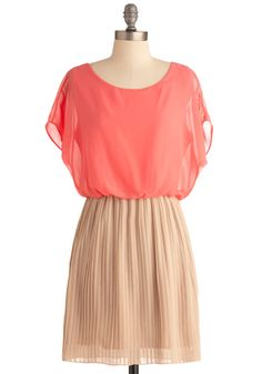 Love Me Duo Dress in Peaches and Cream  $49.99