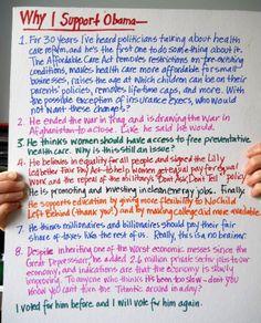 """Why I support Obama"" — Blog — Barack Obama"