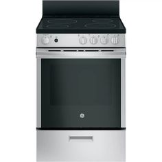 ft Single Oven Electric Range Oven with Steam Cleaning in Stainless Steel Cleaning Oven Racks, Self Cleaning Ovens, Steam Cleaning, Ottawa, Calgary, John Lewis, Removable Backsplash, Toronto, Single Oven