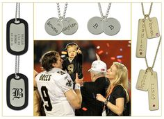 Drew and Brittany Brees by Posh Mommy, via Flickr