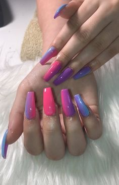 In search for some nail designs and ideas for your nails? Here is our list of 29 must-try coffin acrylic nails for stylish women. Gorgeous Nails, Love Nails, How To Do Nails, Pretty Nails, Fun Nails, Easy Nails, Cute Acrylic Nails, Acrylic Nail Designs, Nail Art Designs