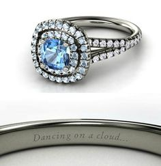 Fine Jewelry Diamond Smart 4.29 Ct Blue Topaz And Diamonds Ring 18k White Gold Natural With Certificate Sturdy Construction