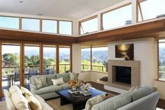 I want these windows in my living room Clerestory Windows, Big Windows, Crank Windows, Open Concept House Plans, Wooden Greenhouses, Green House Design, Home Greenhouse, Greenhouse Ideas, Furniture Arrangement