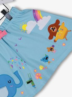 Hey Duggee Blue Skirt Months - 6 Years) from Tu at Sainsbury's ! Bnf, 9th Month, Blue Sweaters, 3rd Birthday, 6 Years, Pajama Pants, Colours, Rose, Skirts