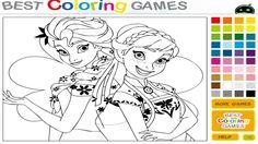 بازی دخترانه آنلاین آرایشگری واقعی السا onlinegames