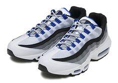 #Nike Air Max 95 - White/Grey-Black #sneakers