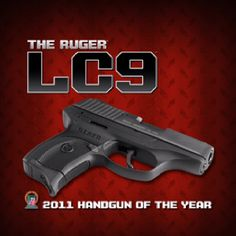 The Ruger LC9 is loaded up with safety features. My favorite. Last year was gun of the year.