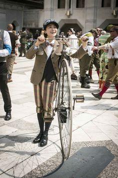 """""""The Tweed Run 2014"""" London by UMA LISBOA CICLISTA - Artur Lourenço"""