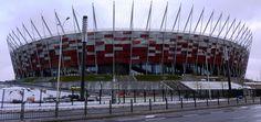 Nationaal stadion in Warschau