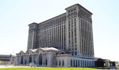 Michigan Central Station in Detroit This is a REAL shame.  Couldn't they go in and turn this into condos or apartments? http://www.buzzfeed.com/awesomer/the-33-most-beautiful-abandoned-places-in-the-world