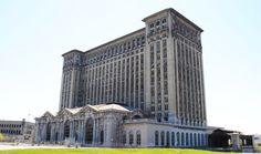 Estación Central de Michigan en Detroit   Los 33 Lugares Abandonados Más Bellos Del Mundo.