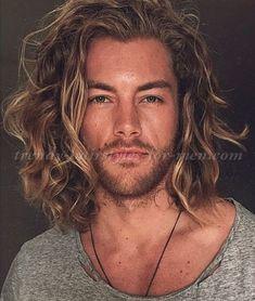 shoulder length hairstyle for men
