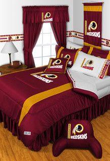 Redskins Bedroom!