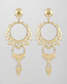 Shiva Earrings by Kendra Scott at Neiman Marcus.