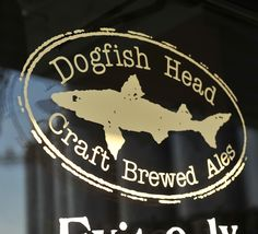 XLarge Logo Decal Brewery Logos, Dogfish Head, Brewing, Ale, Decals, Delaware, Crafts, Tags, Manualidades