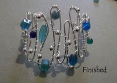 Wire Bracelet tutorial by windswept and interesting