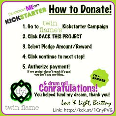 Not sure how to donate on Kickstarter? Follow these 5 easy steps! Twin Flame is a soulful apparel brand bases in Ormond Beach, FL