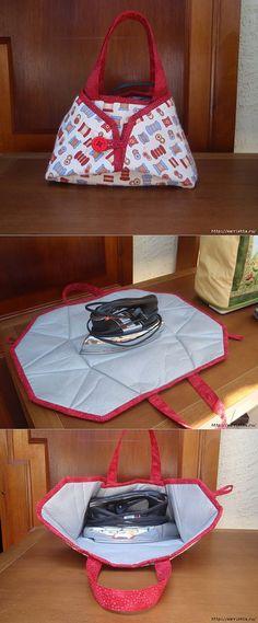 Сумочка-раскладушка для утюга